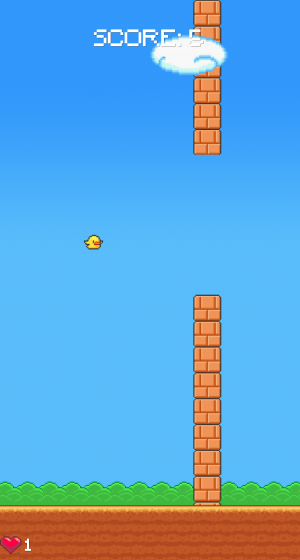 Flying bird screen shot 1